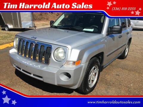 2009 Jeep Patriot for sale at Tim Harrold Auto Sales in Wilkesboro NC