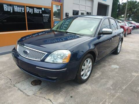 2005 Ford Five Hundred for sale at QUALITY AUTO SALES OF FLORIDA in New Port Richey FL