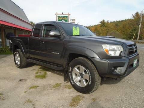 2012 Toyota Tacoma for sale at Wimett Trading Company in Leicester VT