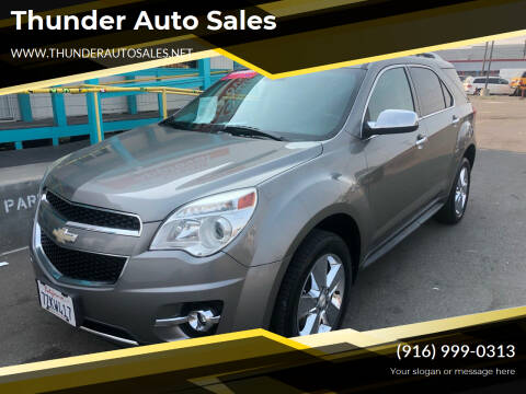 2012 Chevrolet Equinox for sale at Thunder Auto Sales in Sacramento CA