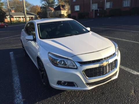 2015 Chevrolet Malibu for sale at DEALS ON WHEELS in Moulton AL