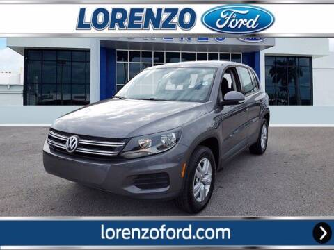 2014 Volkswagen Tiguan for sale at Lorenzo Ford in Homestead FL