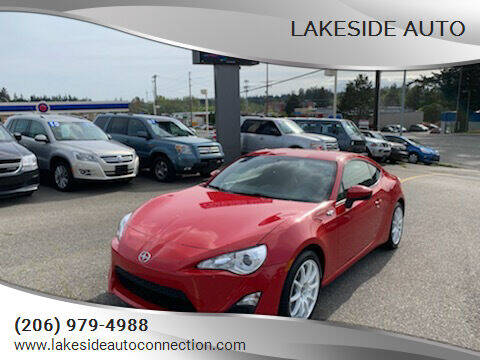 2016 Scion FR-S for sale at Lakeside Auto in Lynnwood WA