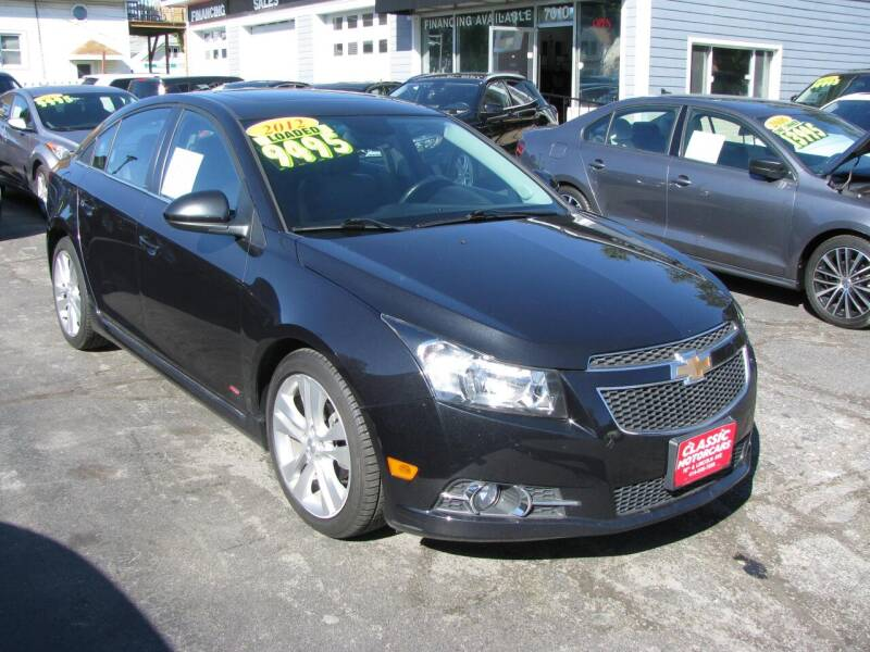2012 Chevrolet Cruze for sale at CLASSIC MOTOR CARS in West Allis WI