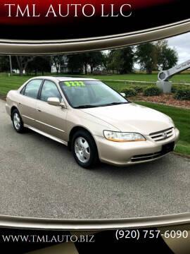 2001 Honda Accord for sale at TML AUTO LLC in Appleton WI