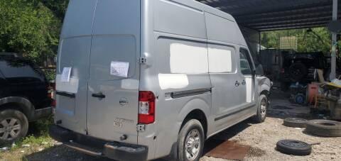 2012 Nissan NV Cargo for sale at C.J. AUTO SALES llc. in San Antonio TX