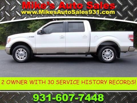 2011 Ford F-150 for sale at Mike's Auto Sales in Shelbyville TN