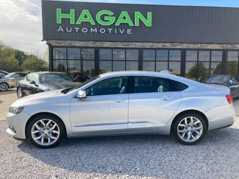2016 Chevrolet Impala for sale at Hagan Automotive in Chatham IL