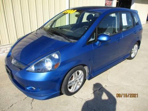 2007 Honda Fit for sale at LINCOLN WAY MOTORS LLC in Cedar Rapids IA