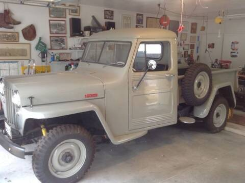 1949 Willys Overland for sale at Classic Car Deals in Cadillac MI