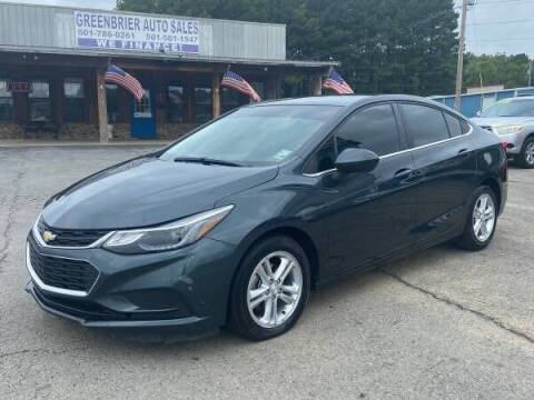 2018 Chevrolet Cruze for sale at Greenbrier Auto Sales in Greenbrier AR