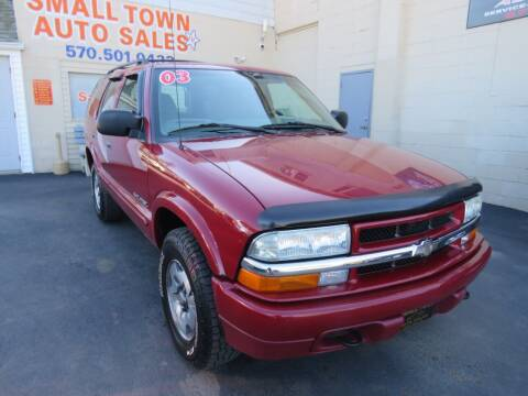 2003 Chevrolet Blazer for sale at Small Town Auto Sales in Hazleton PA