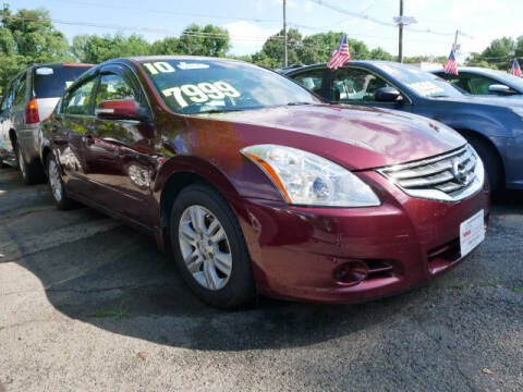 2010 Nissan Altima for sale at M & R Auto Sales INC. in North Plainfield NJ
