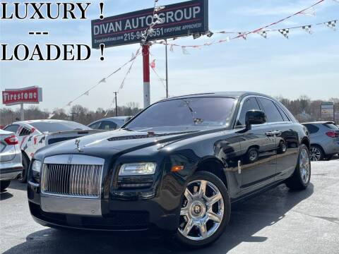 2011 Rolls-Royce Ghost for sale at Divan Auto Group in Feasterville PA