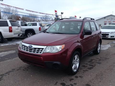 2013 Subaru Forester for sale at Steves Auto Sales in Cambridge MN