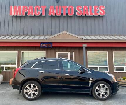 2012 Cadillac SRX for sale at Impact Auto Sales in Wenatchee WA