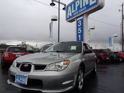 2007 Subaru Impreza for sale at Alpine Auto Sales in Salt Lake City UT