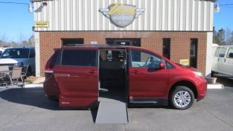 2014 Toyota Sienna for sale at Vans Of Great Bridge in Chesapeake VA