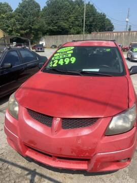 2003 Pontiac Vibe for sale at J D USED AUTO SALES INC in Doraville GA