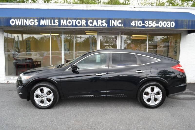 2012 Honda Crosstour for sale at Owings Mills Motor Cars in Owings Mills MD