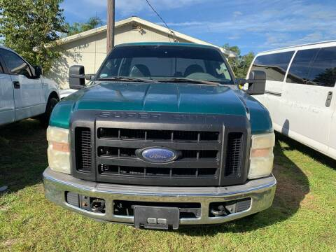 2008 Ford F-250 Super Duty for sale at Popular Imports Auto Sales in Gainesville FL