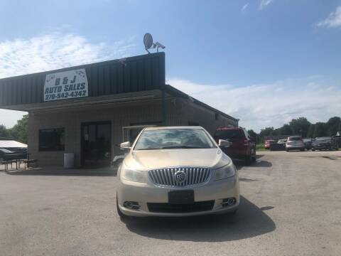 2011 Buick LaCrosse for sale at B & J Auto Sales in Auburn KY