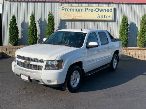 2010 Chevrolet Avalanche for sale at PREMIUM PRE-OWNED AUTOS in East Peoria IL