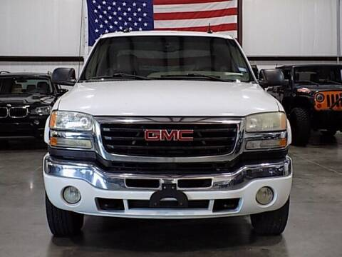 2003 GMC Sierra 2500HD for sale at Texas Motor Sport in Houston TX