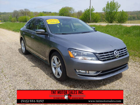 2014 Volkswagen Passat for sale at TNT Motor Sales in Oregon IL