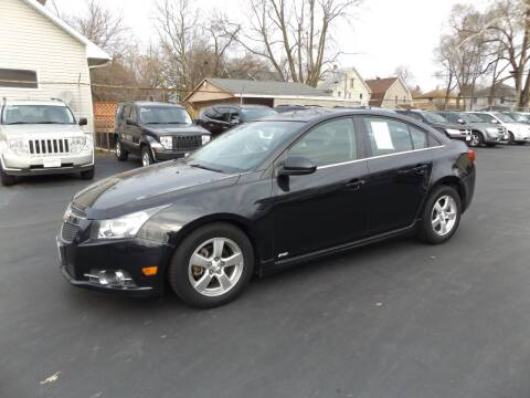 2012 Chevrolet Cruze for sale at Goodman Auto Sales in Lima OH