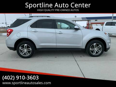 2017 Chevrolet Equinox for sale at Sportline Auto Center in Columbus NE