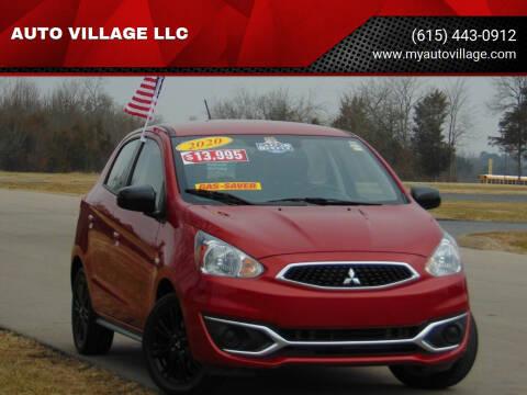 2020 Mitsubishi Mirage for sale at AUTO VILLAGE LLC in Lebanon TN