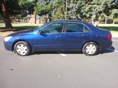 2005 Honda Accord for sale at TONY'S AUTO WORLD in Portland OR