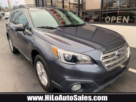 2017 Subaru Outback for sale at Hi-Lo Auto Sales in Frederick MD