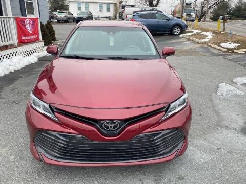 2018 Toyota Camry for sale at Fuentes Brothers Auto Sales in Jessup MD