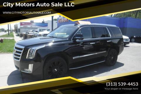 2016 Cadillac Escalade for sale at City Motors Auto Sale LLC in Redford MI