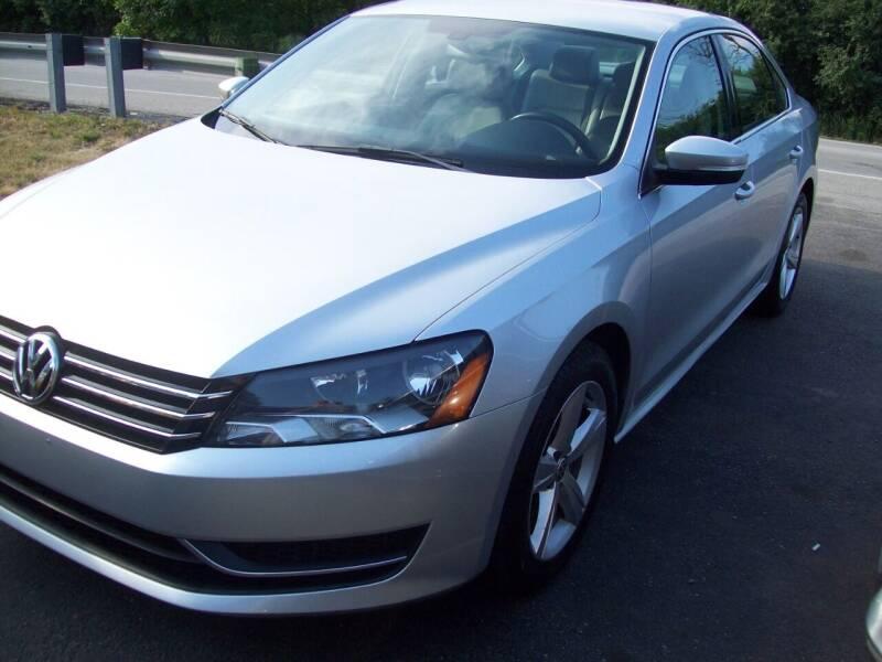 2012 Volkswagen Passat for sale at Edgewater of Mundelein Inc in Wauconda IL
