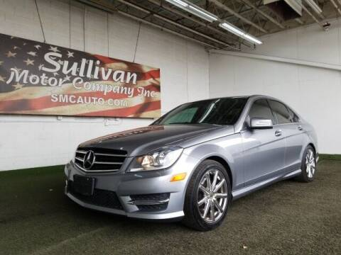 2014 Mercedes-Benz C-Class for sale at SULLIVAN MOTOR COMPANY INC. in Mesa AZ