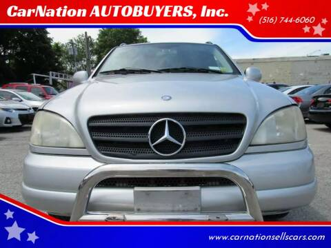 2001 Mercedes-Benz M-Class for sale at CarNation AUTOBUYERS, Inc. in Rockville Centre NY