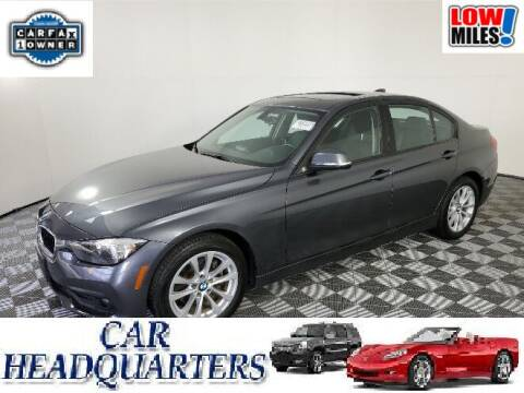 2017 BMW 3 Series for sale at CAR  HEADQUARTERS in New Windsor NY