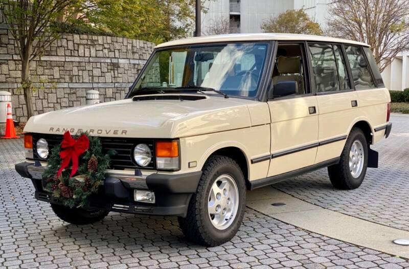 1995 Land Rover Range Rover for sale at Motor Co in Atlanta GA