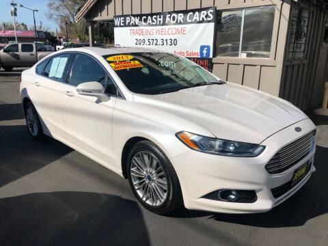 2013 Ford Fusion for sale at Devine Auto Sales in Modesto CA