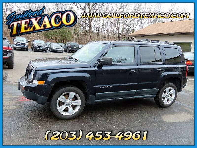 2011 Jeep Patriot for sale at GUILFORD TEXACO in Guilford CT
