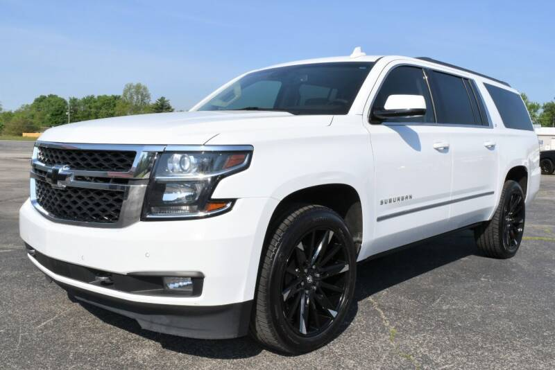 2018 Chevrolet Suburban for sale at Heritage Automotive Sales in Columbus in Columbus IN