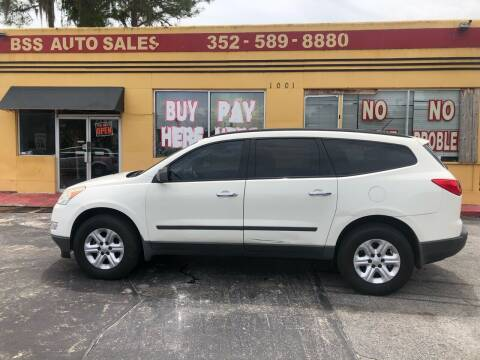 2012 Chevrolet Traverse for sale at BSS AUTO SALES INC in Eustis FL