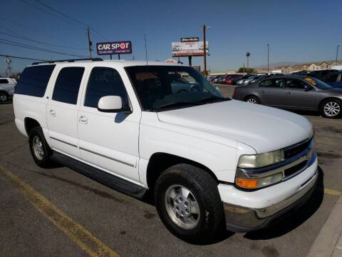 2003 Chevrolet Suburban for sale at Car Spot in Las Vegas NV