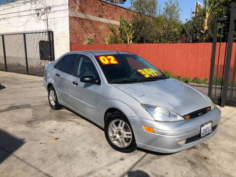 2002 Ford Focus for sale at The Lot Auto Sales in Long Beach CA