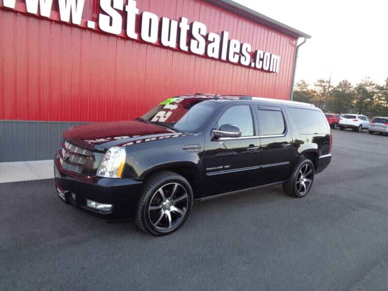2013 Cadillac Escalade ESV for sale at Stout Sales in Fairborn OH