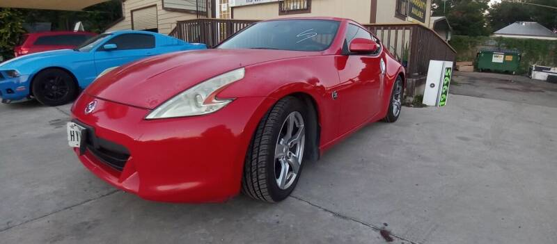 2009 Nissan 370Z for sale at AUTOTEX FINANCIAL in San Antonio TX