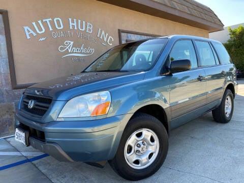 2005 Honda Pilot for sale at Auto Hub, Inc. in Anaheim CA